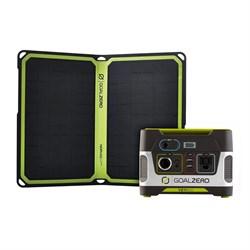 Goal Zero Yeti 150 + Nomad 14 Plus Solar Kit