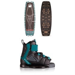Liquid Force Rant Wakeboard Package - Boys' 2020