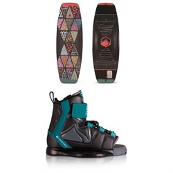 Liquid Force Fury ​+ Rant Wakeboard Package - Boys' 2020