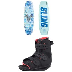 Slingshot Contrast ​+ Option Wakeboard Package - Women's 2020