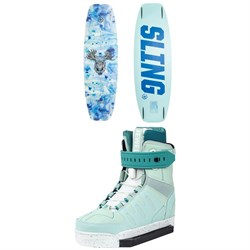 Slingshot Contrast ​+ Jewel Wakeboard Package - Women's 2020