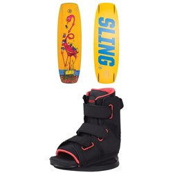 Slingshot Super Grom Wakeboard Package - Kids' 2020