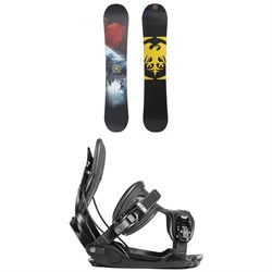 Never Summer Snowtrooper X Snowboard ​+ Flow Alpha Snowboard Bindings