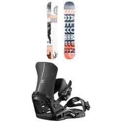 Salomon Sleepwalker X Snowboard 2020 + Salomon District Snowboard Bindings 2019
