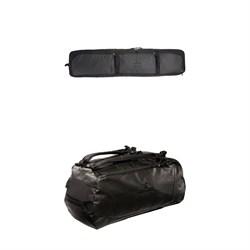 evo Roller Snowboard Bag + evo Deluxe 65L Duffel
