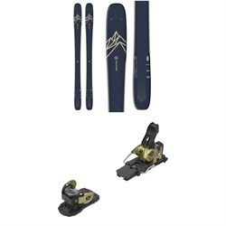 Salomon QST 99 Skis ​+ Warden MNC 13 Ski Bindings 2020