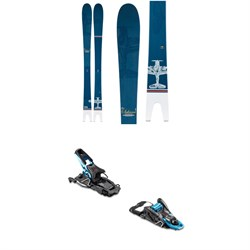 Line Skis Sakana Skis ​+ Salomon S​/Lab Shift MNC Alpine Touring Ski Bindings 2020