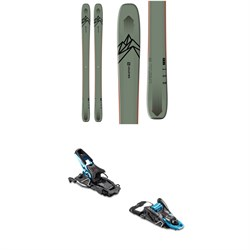 Salomon QST 106 Skis 2020 ​+ Salomon S​/Lab Shift MNC Alpine Touring Ski Bindings 2020