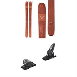 Blizzard Rustler 11 Skis + Marker Griffon 13 ID Ski Bindings 2020