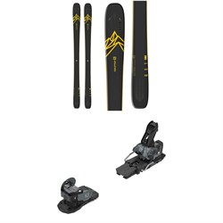 Salomon QST 92 Skis ​+ Warden MNC 13 Ski Bindings 2020