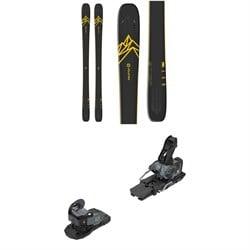 Salomon QST 92 Skis + Warden MNC 13 Ski Bindings 2020