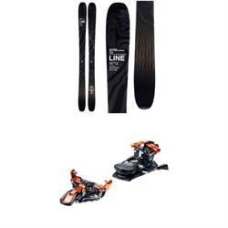 Line Skis Vision 108 Skis + G3 Ion 12 Alpine Touring Bindings 2020