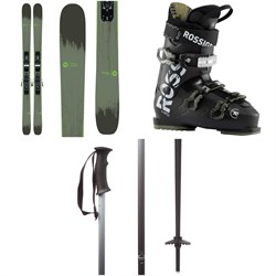 Rossignol Smash 7 Skis ​+ Xpress 10 Bindings ​+ Evo 70 Ski Boots ​+ evo Double-E Ski Poles 2020