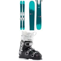 Rossignol Sassy 7 Skis + Xpress 10 Bindings + Kelia 50 Ski Boots - Women's 2020