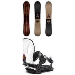 Arbor Element Snowboard 2019 + Arbor Cypress LTD Snowboard Bindings
