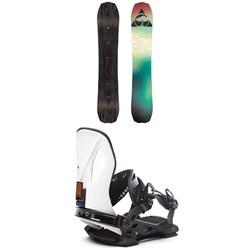 Arbor Bryan Iguchi Pro Rocker Snowboard 2019 + Arbor Cypress LTD Snowboard Bindings