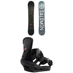Salomon Sight X Snowboard 2020 + Burton Freestyle Snowboard Bindings 2019