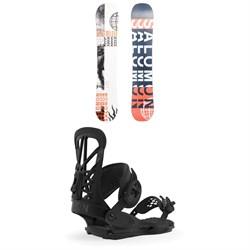 Salomon Sleepwalker X Snowboard + Union Flite Pro Snowboard Bindings 2020