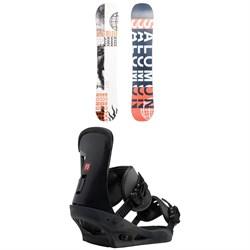 Salomon Sleepwalker X Snowboard 2020 + Burton Freestyle Snowboard Bindings 2019
