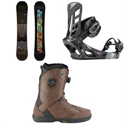 K2 Subculture Snowboard 2018 + Indy Snowboard Bindings  + Maysis Snowboard Boots