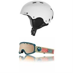 K2 Verdict Helmet + Dragon D1 OTG Goggles