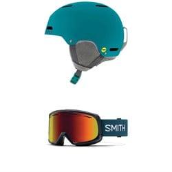 Giro Ledge MIPS Helmet + Smith Drift Goggles - Women's