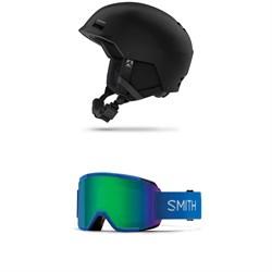 Marker Kojak Helmet + Smith Squad Goggles