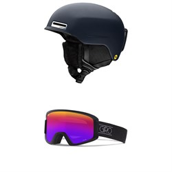 Smith Allure MIPS Helmet - Women's ​+ Giro Dylan Goggles - Women's