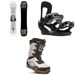 Bataleon Disaster Snowboard ​+ Switchback Destroyer Snowboard Bindings ​+ thirtytwo Light JP Snowboard Boots 2020