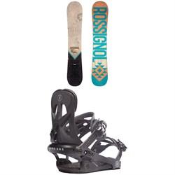 Rossignol Templar Snowboard + Rome Arsenal Snowboard Bindings