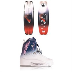 Liquid Force Remedy Aero ​+ Riot 4D Wakeboard Package 2020