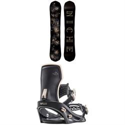 Niche Sonnet Snowboard + Flux GX Snowboard Bindings - Women's 2020