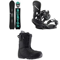 Burton Kilroy Directional Snowboard + Mission EST Snowboard Bindings + Burton Ruler Snowboard Boots 2020