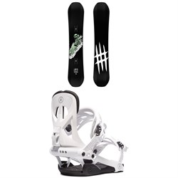 Lobster Park Snowboard ​+ Rome Arsenal Snowboard Bindings