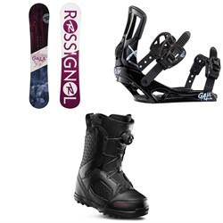 Rossignol Gala Snowboard + Gala Snowboard Bindings + thirtytwo STW Boa Snowboard Boots - Women's 2020