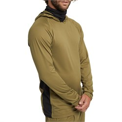Burton Midweight X Long Neck Hooded Base Layer Top