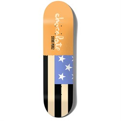 Chocolate Perez Giant Flags 7.875 Skateboard Deck