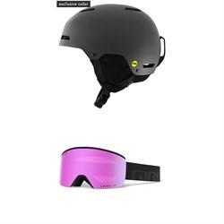 Giro Ledge MIPS Helmet + Giro Ella Goggles - Women's