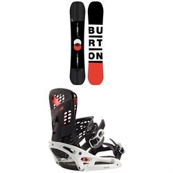 Burton Custom Flying V Snowboard + Burton Genesis EST Snowboard Bindings 2020