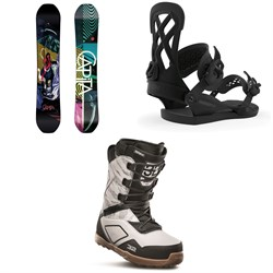 CAPiTA Indoor Survival Snowboard ​+ Union Contact Pro Snowboard Bindings ​+ thirtytwo Light JP Snowboard Boots 2020