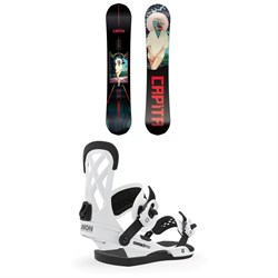 CAPiTA The Outsiders Snowboard ​+ Union Contact Pro Snowboard Bindings 2020