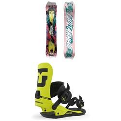 CAPiTA Asymulator Snowboard + Union Strata Snowboard Bindings 2020