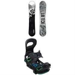 Lib Tech Cold Brew C2 Snowboard ​+ Bent Metal Transfer Snowboard Bindings