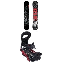 Lib Tech TRS HP C2X Snowboard ​+ Bent Metal Transfer Snowboard Bindings 2020