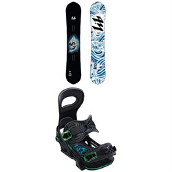 Lib Tech T-RAS HP C2 Snowboard ​+ Bent Metal Transfer Snowboard Bindings 2020