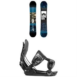 Rome Reverb Rocker SE Snowboard + Flow Five Fusion Snowboard Bindings