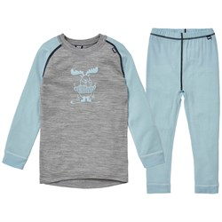 Helly Hansen HH Merino Mid Baselayer Set - Little Kids'