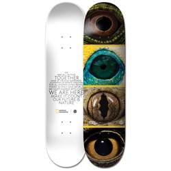 Element Nat Geo Eye Quad 8.0 Skateboard Deck