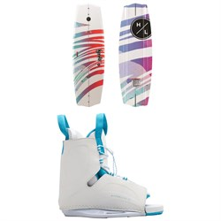 Hyperlite Eden 2.0 ​+ Allure Wakeboard Package - Women's 2020