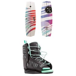 Hyperlite Eden 2.0 ​+ Jinx Wakeboard Package - Girls' 2020